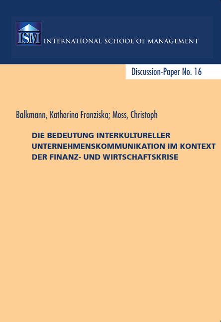 Katharina Balkmann Christoph Moss Interkulturelle Kommunikation