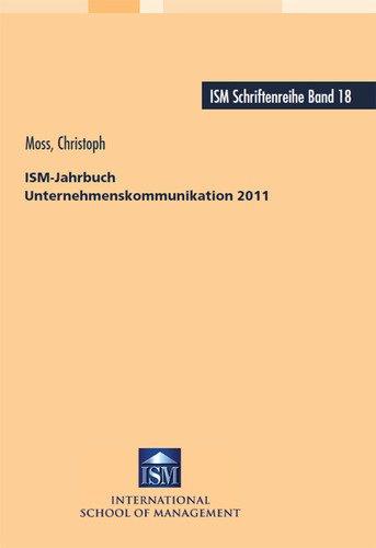 Christoph Moss ISM-Jahrbuch Unternehmenskommunikation 2011