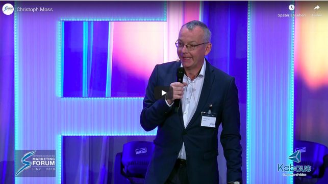 Christoph Moss Österreichisches Marketingforum Linz 2019